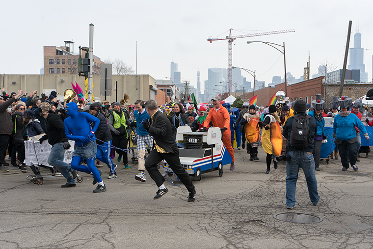 The+start+line+of+the+food+race%2C+CHIditarod+XIV%2C+took+place+next+to+Cobra+Lounge%2C+235+N.+Ashland+Ave.