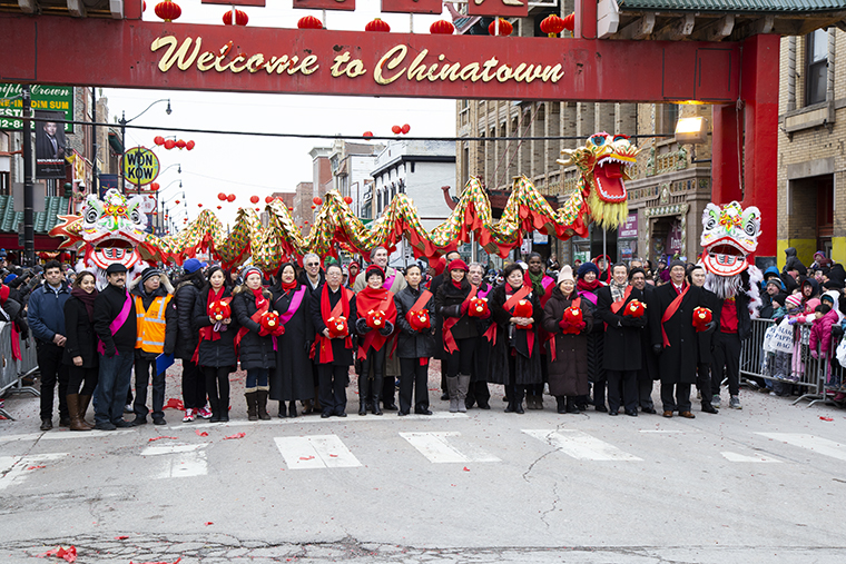 Chinatown+Lunar+New+Year+Parade+featured+traditional+dances%2C+marching+bands+and+spectators+on+Wentworth+Avenue+from+24th+Street+to+Cermak+Road+Feb.+10.