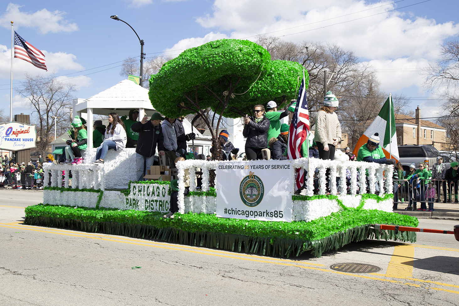 Chicago+Park+District+at+the+Southside+Irish+St.+Patrick%27s+Day+Parade+Mar.+18.