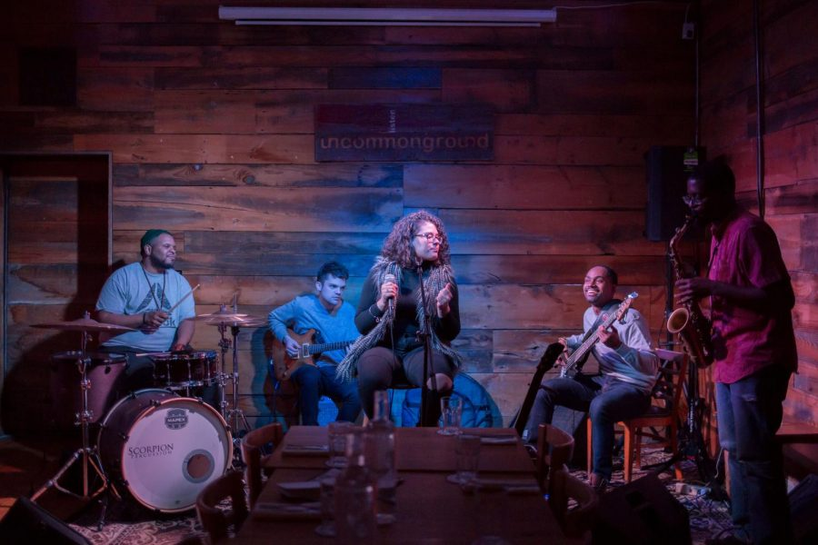 Uncommon Ground's current Homegrown Residency band Illville Vanguard, led by Gabriel Alston, play music influenced by a variety of genres such as jazz, funk, hip-hop, Latin and neo soul.