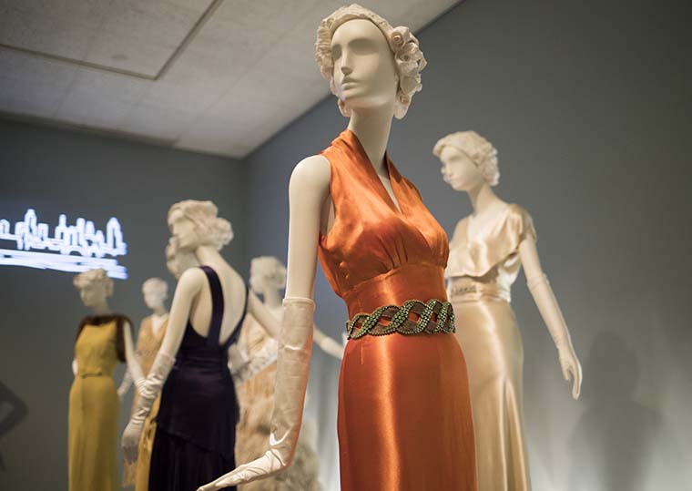 The classic silhouettes and cuts of the '30s and '40s can still be seen in many fashion designs today.