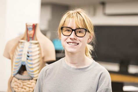 Arlene Vecchi, animation major and minor in biology, talks about her transition combiing her love for animation and biology to her career in medical animations.