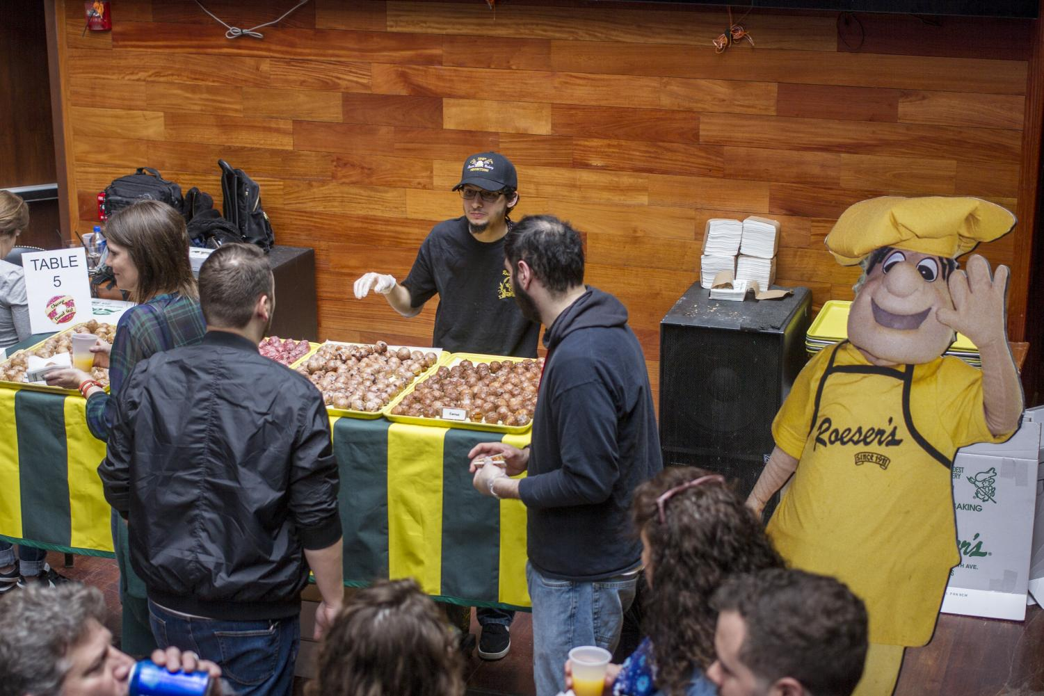 Donut+Fest+participants+spent+their+day+looking+for+more+donuts+to+taste.+