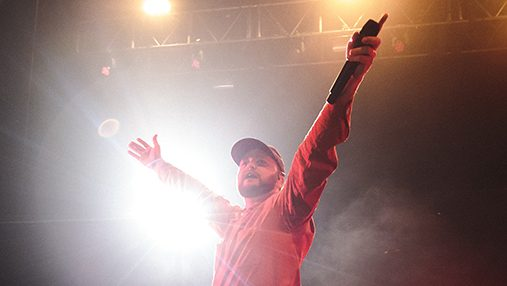 Detroit singer Quinn XCII brought From Tour With Love to Chicago's Riviera Theatre, 4746 N. Racine Ave., on March 20. He performed songs