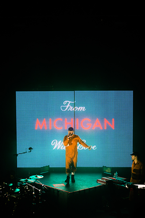 Detroit+singer+Quinn+XCII+brought+From+Tour+With+Love+to+Chicago%27s+Riviera+Theatre%2C+4746+N.+Racine+Ave.%2C+on+March+20.+He+performed+songs+%22Autopilot%22+and+%22U+%26amp%3B+Us%22+and+many+more+from+his+sophomore+album+From+Michigan+With+Love.