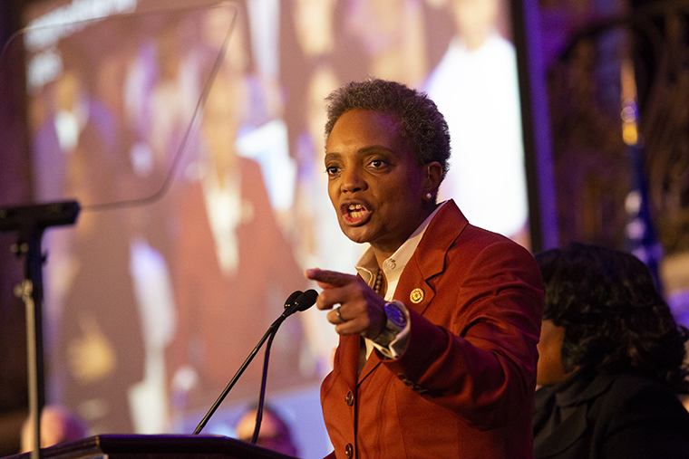 Lori+Lightfoot+becomes+the+first+black+female+mayor+of+Chicago.