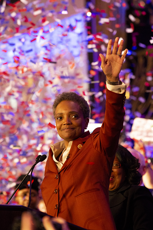 Lori+Lightfoot+wins+the+2019+mayoral+race+with+more+than+70+percent+of+the+vote.