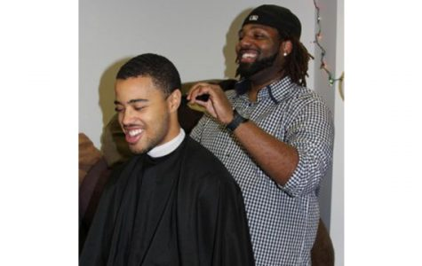 Barbershop series gives male students place to connect