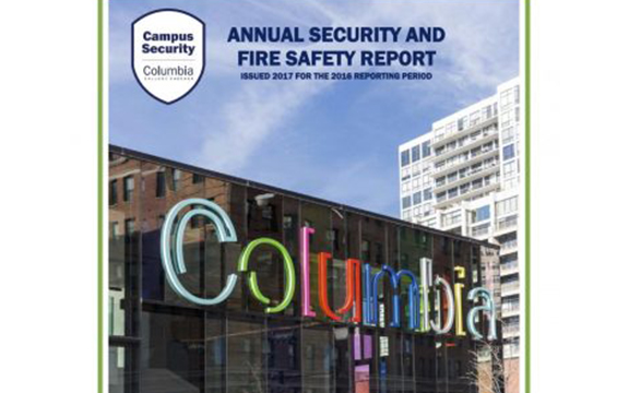 Annual Security and Fire Safety Report released
