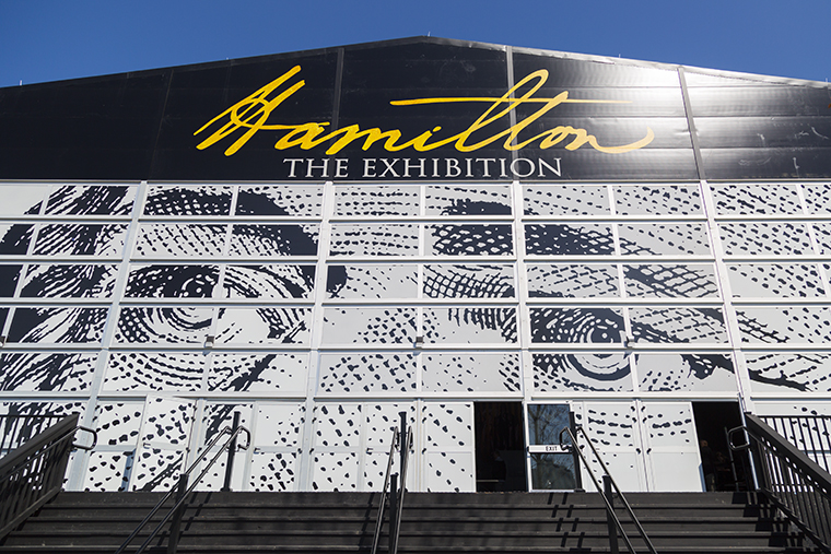 """Chicago is the first stop for """"Hamilton: The Exhibition."""" It is located at 1535 S. Linn White Drive."""