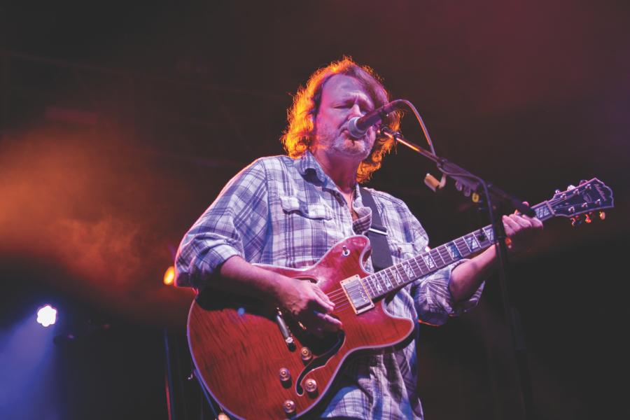 Headlining band Widespread Panic closed out Friday's portion of the fest, leaving festival goers weekend-ready.