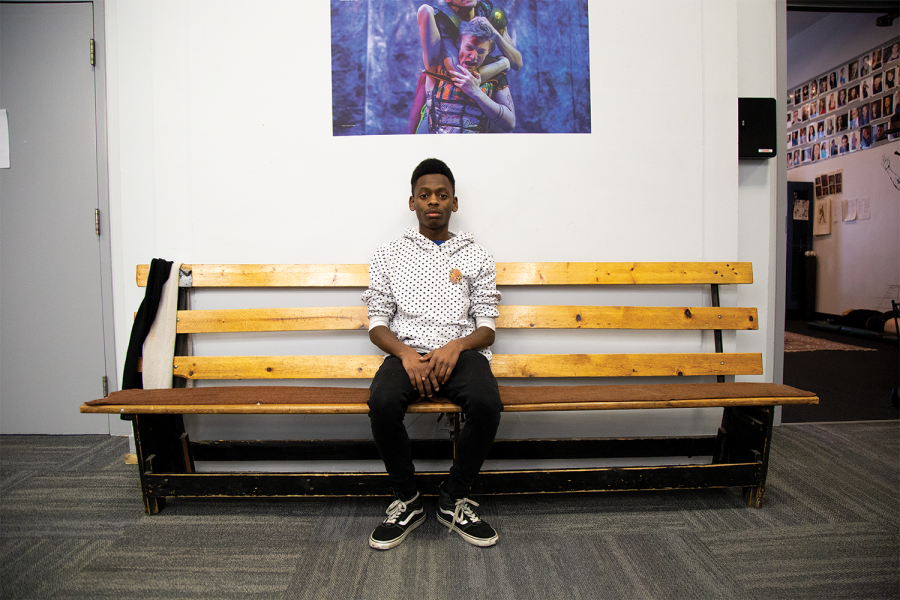 William Pettway, junior theatre directing major, details their experience with racism from faculty in the theatre department at Columbia College Chicago.