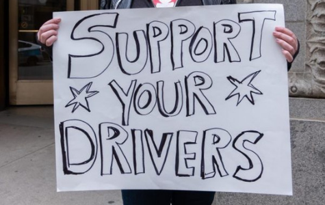 Ride-share drivers protest City Hall for higher wages