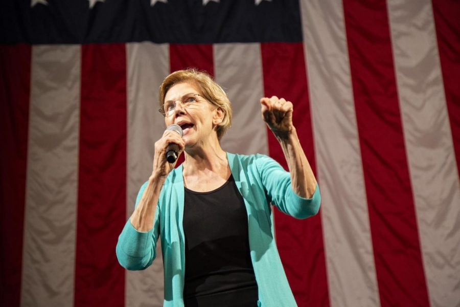 Sen. Elizabeth Warren is scheduled to appear at a Rainbow PUSH Coalition Convention event Saturday, alongside some other Democratic presidential hopefuls.