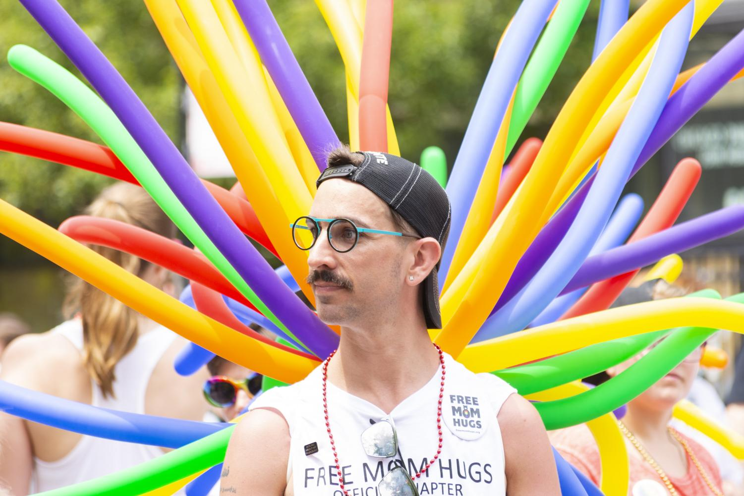 Large+crowds+gathered+to+celebrate+Pride+in+Chicago+with+the+city%27s+50th+annual+Pride+Parade+June+30.
