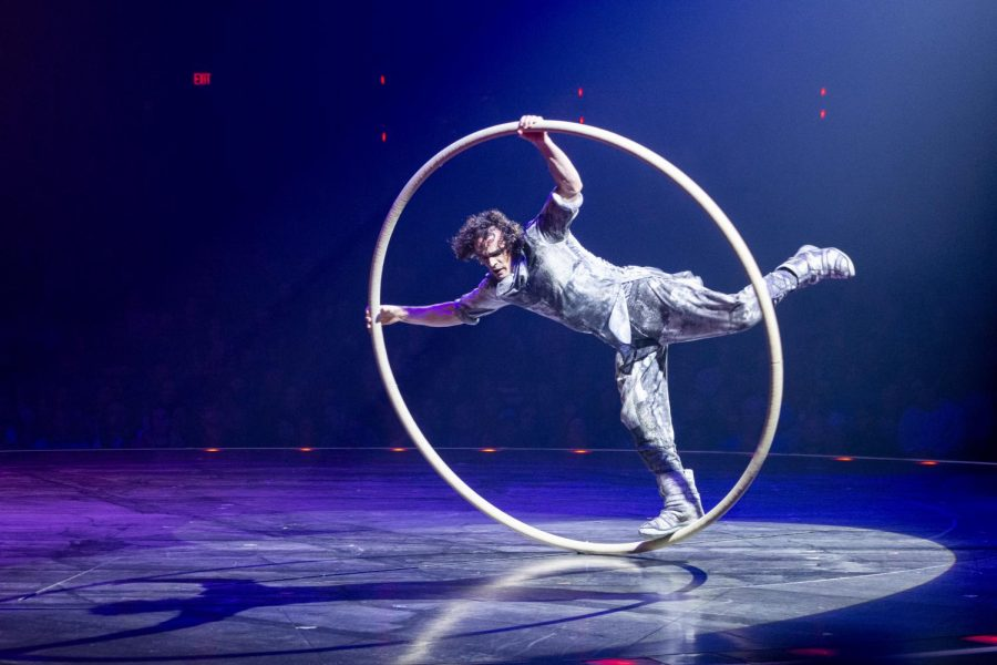 The Cirque du Soleil show