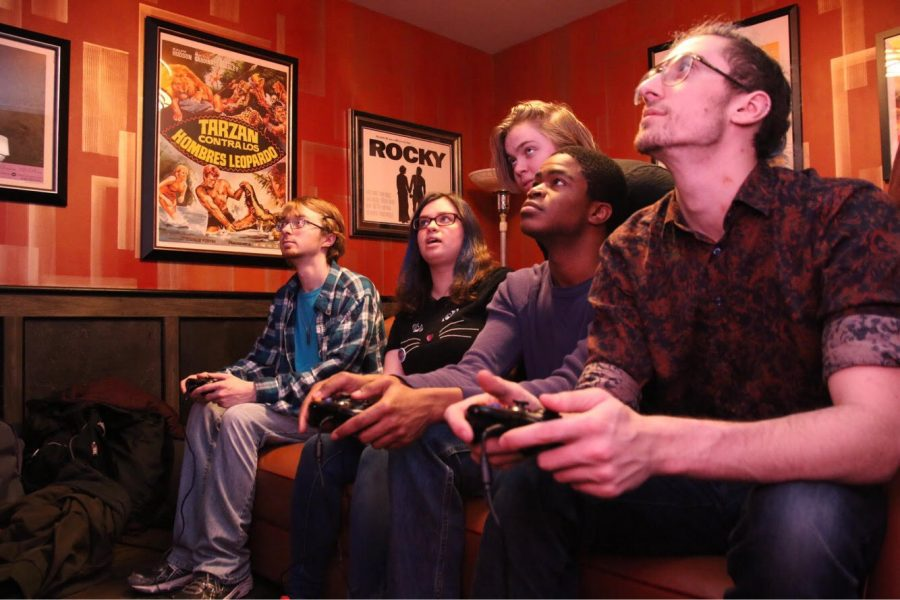 Five Columbia students are one of five groups of finalists who will compete at the Electronic Entertainment Expo June 11-13 for their video game