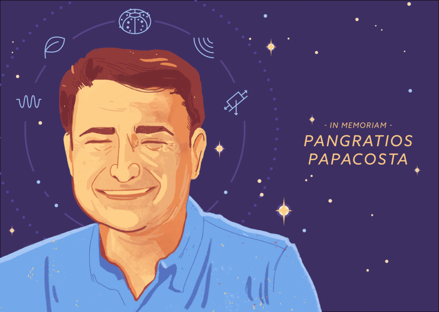 Pangratios Papacosta 'epitomized the best of what this college stands for'