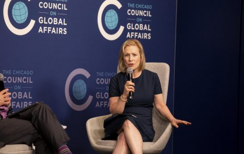 Sen. Kirsten Gillibrand (D-N.Y.) is one of many Democrats at odds with Speaker of the House Nancy Pelosi (D-Calif.) as she advocates for Congress to pursue the impeachment of Trump.