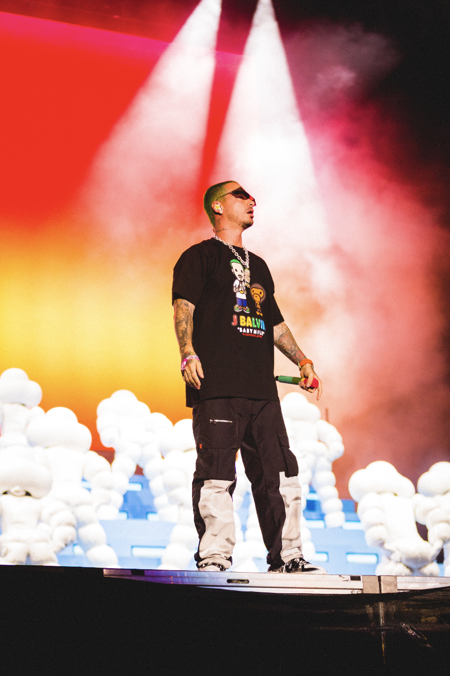 J+Balvin+made+history+as+the+first+latin+music+artist+to+perform+as+a+Lollapalooza+headliner+Aug.+3.