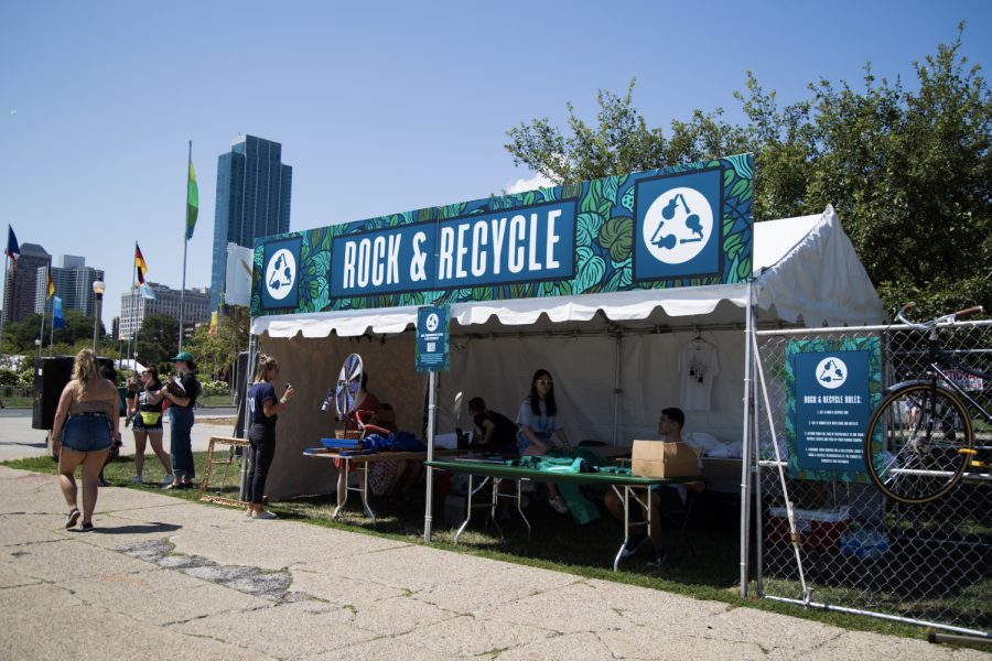 Through partnerships with organizations including Rock the Earth and the Love Hope Strength Foundation, Lollapalooza is taking on green initiatives.