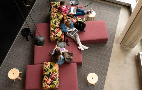 Students' first date with 'brand spankin' new' Student Center