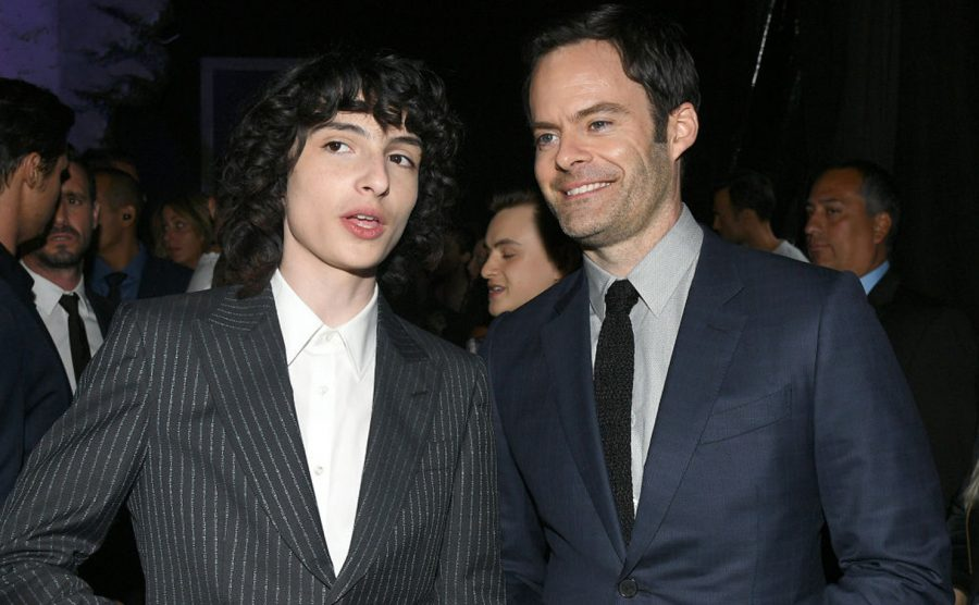 WESTWOOD, CALIFORNIA - AUGUST 26: (L-R) Finn Wolfhard and Bill Hader attend the Premiere of Warner Bros. Pictures It Chapter Two at Regency Village Theatre on August 26, 2019 in Westwood, California. (Photo by Kevin Winter/Getty Images)