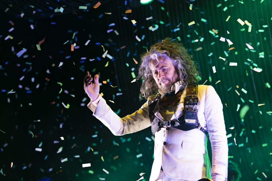 Wayne Coyne of The Flaming Lips performs on the Roots Stage Sept. 13 at Riot Fest in Douglas Park.