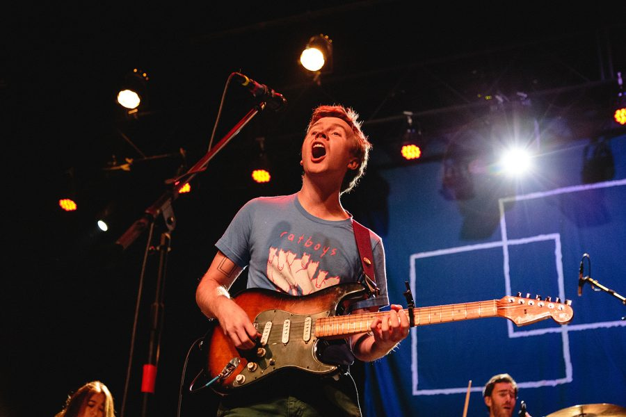Pinegrove closed their show playing