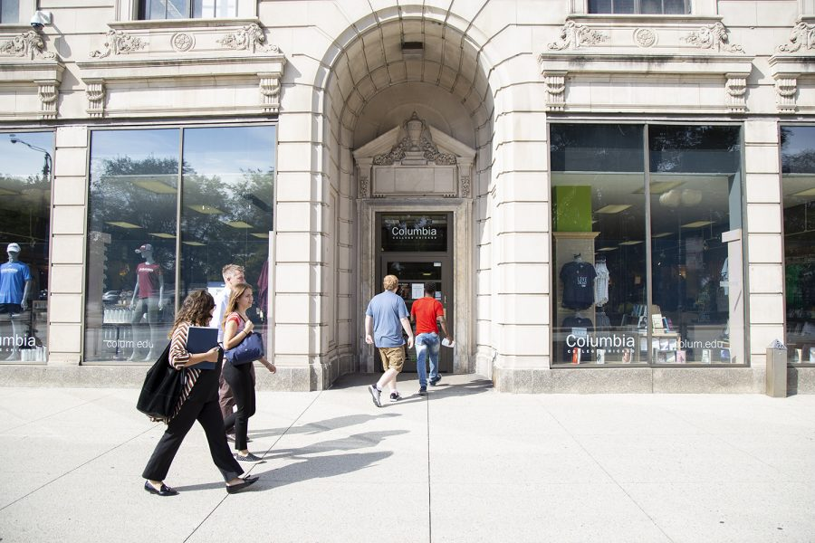Columbia's Bookstore, 624 Michigan Ave., was underwent renovations summer 2019.