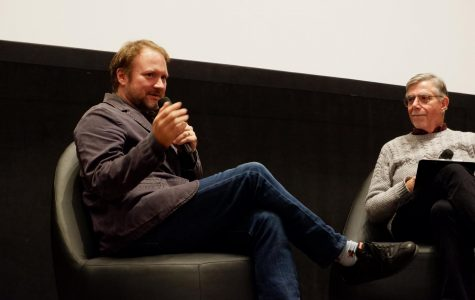 Director Rian Johnson talks 'Knives Out,' exploring genres and Hitchcock at Columbia Film Row