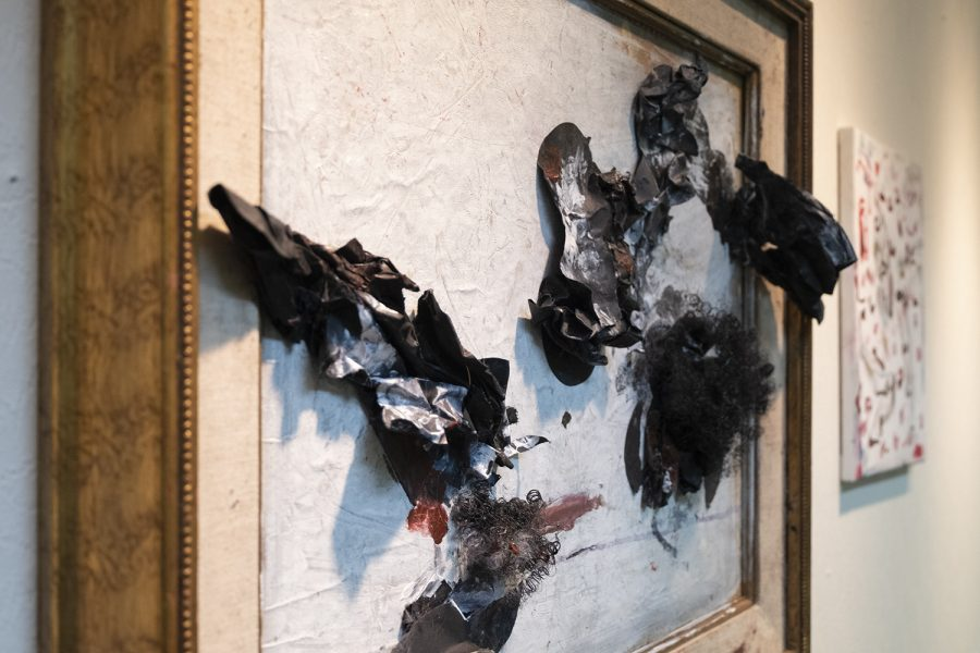 Isabelle Bottger is a self-taught visual artist based on violence against women. This piece is