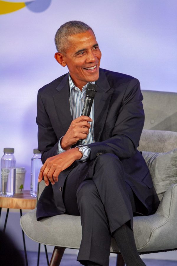 Former+President+Barack+Obama+hosted+his+annual+Obama+Summit+Tuesday%2C+promoting+economic+distribution+throughout+the+city+and+revealing+plans+for+his+upcoming+Obama+Presidential+Center.+