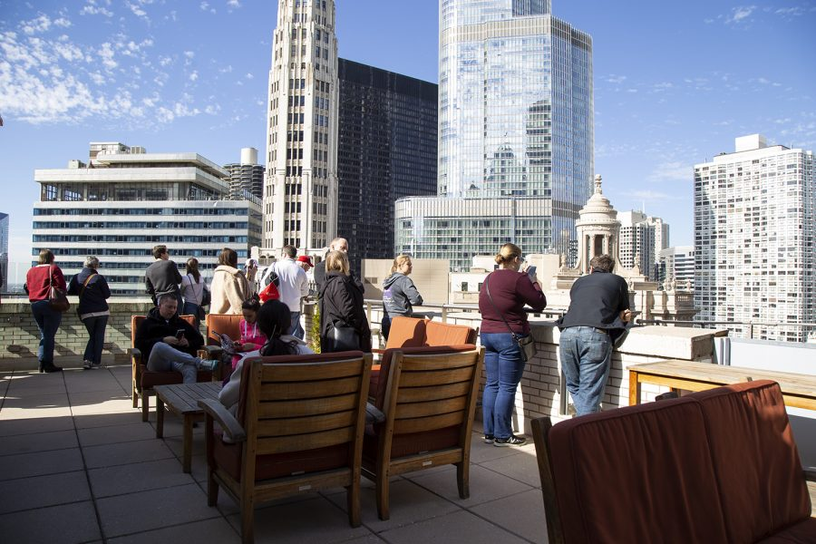 Over+the+weekend%2C+tourists+got+to+experience+rooftop+views+for+free+during+the+Chicago+Cultural+Center%27s+Open+House+Chicago.