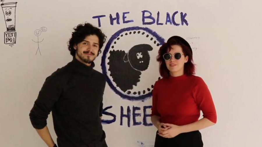 The Black Sheep is a group of 12 Columbia students who create satirical content, including videos and memes.