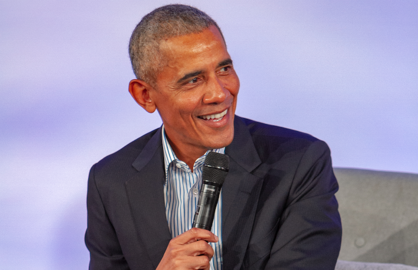 The Obamas come home to promote the Presidential Center
