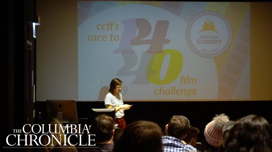 1,440 minutes later, students compete to create short comedy films