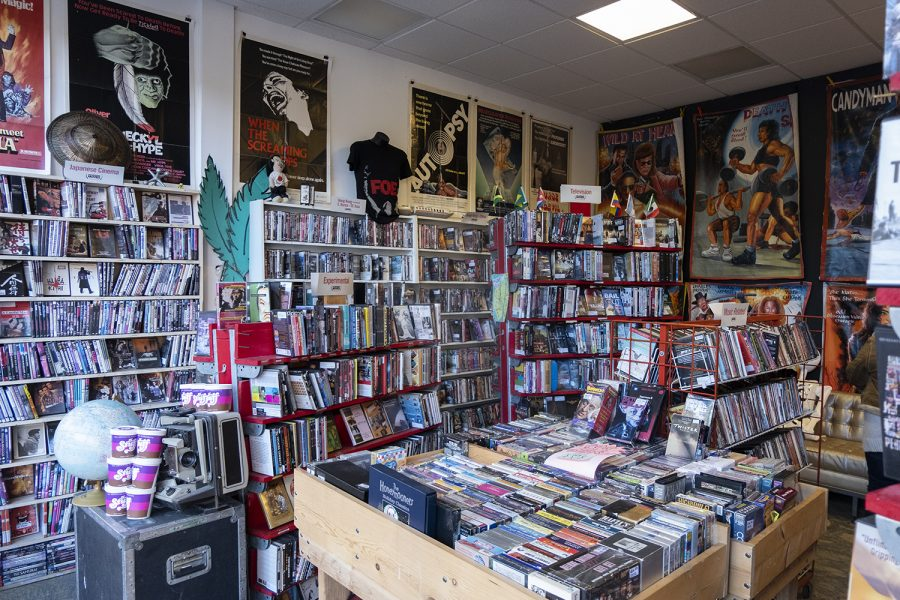 Odd Obsession, 1830 N. Milwaukee Avenue, is one of the last remaining video rental stores in Chicago.