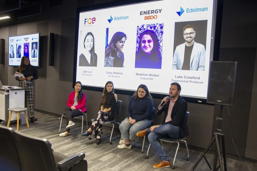 With the panel comprised of four Columbia alumni, the Ad Club student organization hosted the panel Wednesday, Nov. 20 at the 1104 S. Wabash Ave. building.