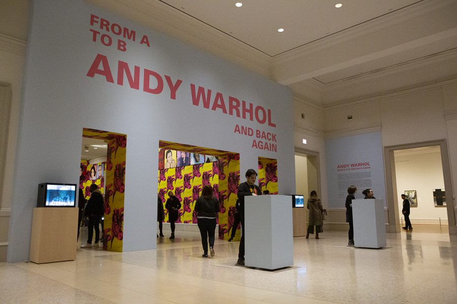 Andy Warhol, from A to B and back again will remain open through Sunday, Jan. 26 at the Art Institute of Chicago, 111 S. Michigan Ave.