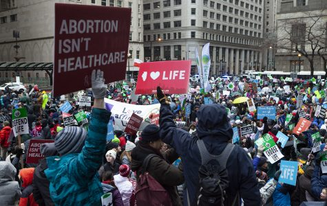 Chicago's March for Life attracts anti-abortion supporters, counter-protesters and white nationalists