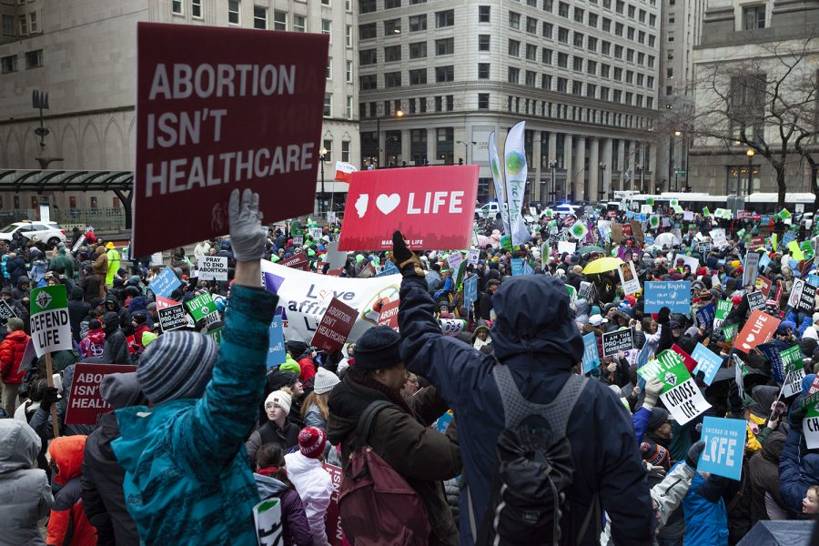 March for Life Chicago claims to be the largest pro-life event in the Midwest. Over 8,000 were in attendance during 2019's march.