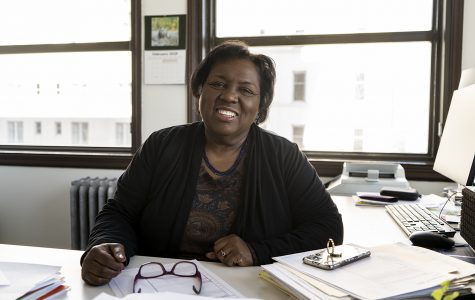 Rosita Sands was selected as dean of the School of Fine and Performing Arts.