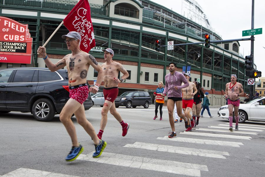 Ready, set, undress: Hundreds run in their undies for charity