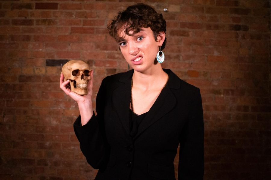 """Kate Smith spent 3 1/2 years creating her production, """"One Woman Hamlet."""""""