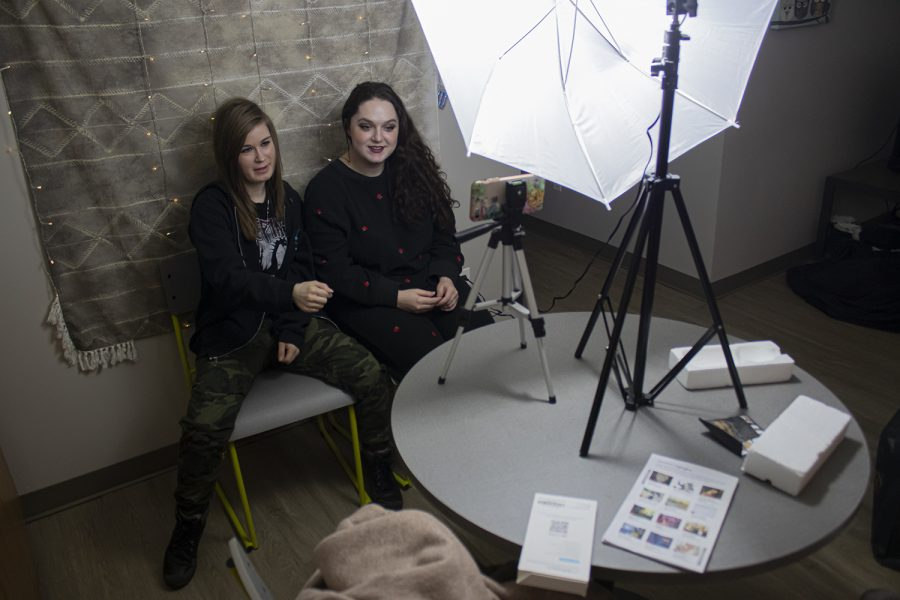 (From left) Kate Roberts and Kassidy Graf created their channel Jerry Crew Comedy while in high school as a way to share inside jokes with subscribers.
