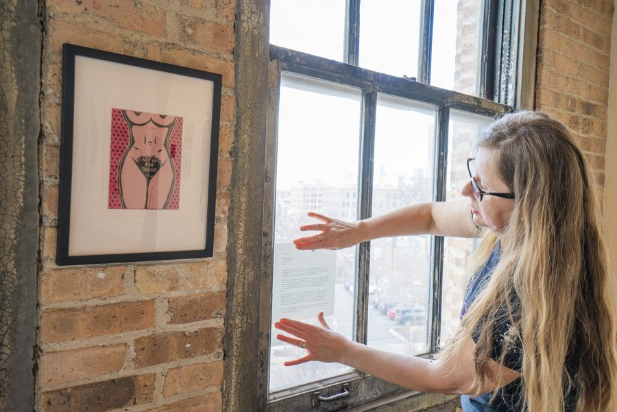 Artists depict the universal female experience at 'Suffra-Jetting' exhibit