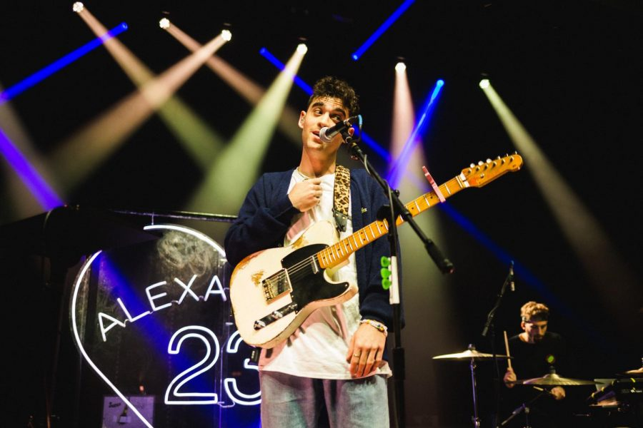 Alexander Glantz, who goes by Alexander 23, opened for pop artist Chelsea Cutler at their sold-out show Tuesday, March 10.