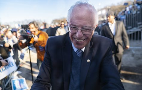 Sen. Bernie Sanders is currently the runner-up in the Democratic presidential primary with 573 delegates, as of press time, behind former Vice President Joe Biden's 664 delegates.