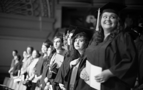 Columbia College Chicago's 2015 commencement ceremony.